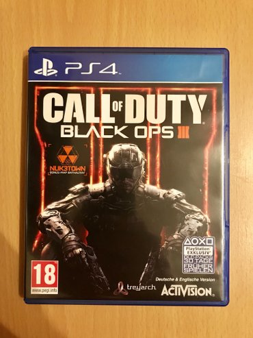 Na prodaju Call Of Duty Black Ops III PS4 Video Igra! NOVO, NOVO, NOVO - Loznica