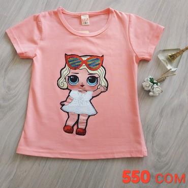 одежда для детей в Кыргызстан: Милая, стильная футболочка для маленьких модниц . Порадуйте своих дет