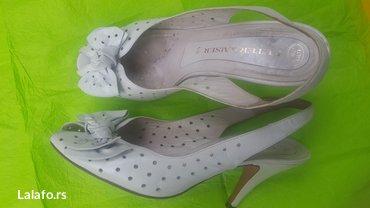 Ženska obuća | Novi Banovci: Kozne italijanske cipelice broj 38 ocuvane