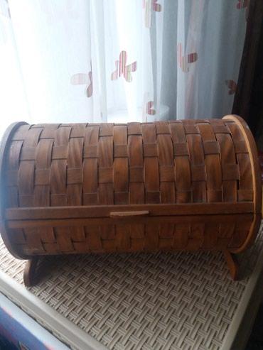 Хлебница деревянная в Бишкек