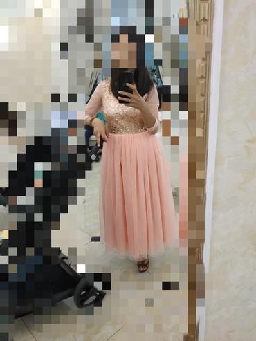 Платье мама дочка.мама размер 42-44.дочка5-6лет.одевали 2 раза