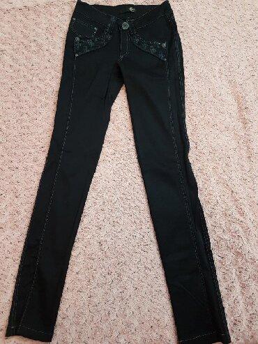Framerke-zenske-roberto-cavalli - Srbija: Zenske pantalone Just Cavalli, obucene jednom. Iste kao sa slike