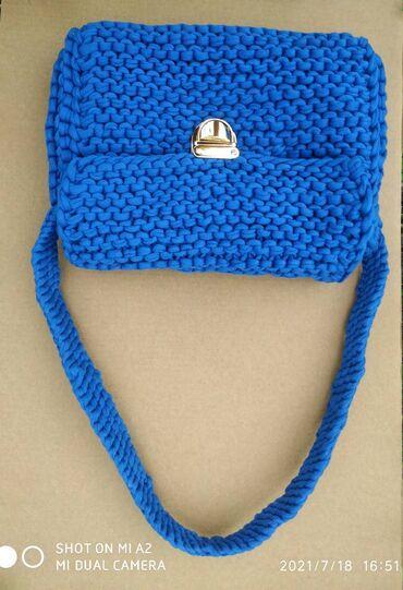 Личные вещи - Чолпон-Ата: Оригинальные и элегантные сумки ручной работы из трикотажной пряжи на