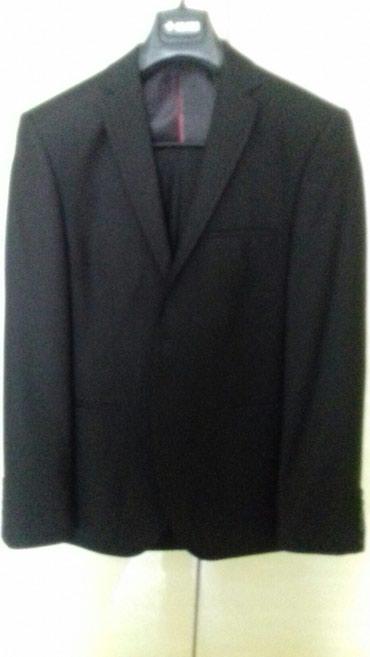 Мужской костюм, новый, цвет черный. в Ош