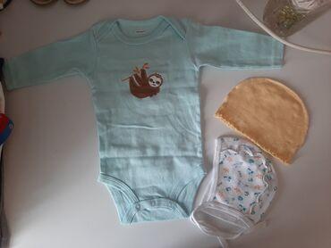 брендовые одежды в Кыргызстан: Пакет одежды! Боди, футболочки, маечки, лонгсливы. На рост 62-68 см