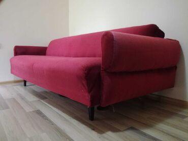 Kuća i bašta - Raska: Kauč, korišćen, u solidnom stanju. Dimenzije 205x100, ne rasklapa se
