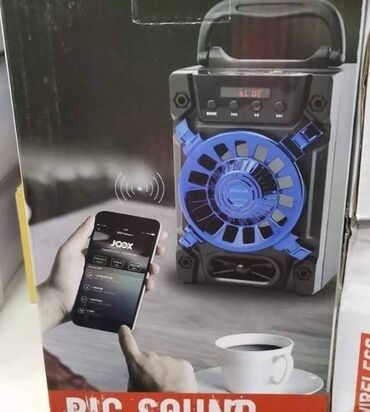 Punjac - Srbija: Bluetooth karaoke zvučnik Cena-2400 din. Prenosivi zvučnik. Radi sa