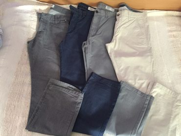 Pantalone-velicina-m - Srbija: Muske pantalone, velicina 32, u kompletu ili pojedinacno