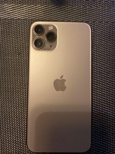 продам iphone 11 pro в Кыргызстан: Б/У IPhone 11 Pro 64 ГБ Золотой