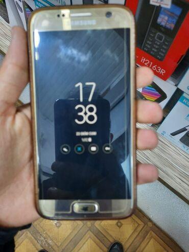 Samsung galaxy s7 duos - Азербайджан: Б/у Samsung Galaxy S7 32 ГБ Золотой
