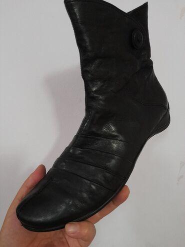 Женские австрийские кожаные натуральные ботинки. Размер 40 .Австрия