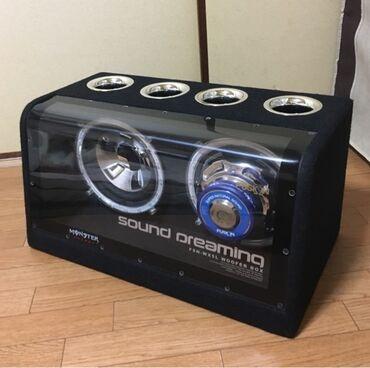 Активый Сабвуфер Fusion FSN-WX5L 300WПроизводитель-Япония, отличное