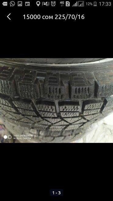 атоми цены в сомах в Азербайджан: Зимняя шина . Цена 15000