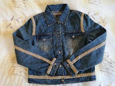 Blue-jeans - Srbija: Teksas jakna, MDS jeans. Velicina 40
