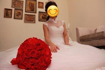 Свадебное платье размер s 8000 сомов в Бишкек