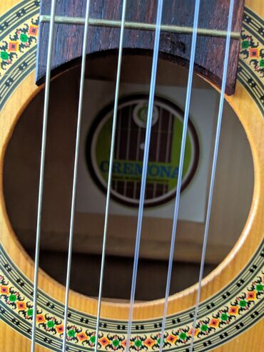 gitara klassik - Azərbaycan: İlk önce salam.gitara4×4 cremona klassik gitara cexslovakiya