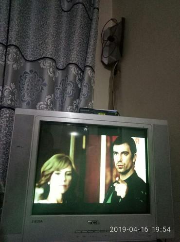 Телевизор с санарипом и антенной .Состояние отличное, пульт. в Бишкек