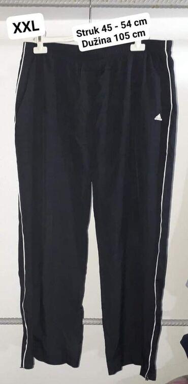 Adidas muška trenerka XXL Kvalitetna  (Hvali kanap u struku ) ima last