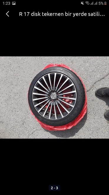 disk-teker - Azərbaycan: Disk 17 satilir teker de ustunde verem!!!