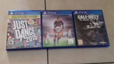 Ps4 games.Call of duty ghosts,Just dance 2015 και Fifa 16 σε Ξάνθη