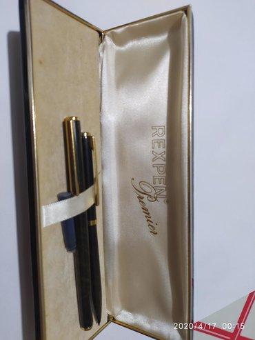 Penkalo - Srbija: Staro penkalo u originalnoj futroli sa hemijskom olovkom