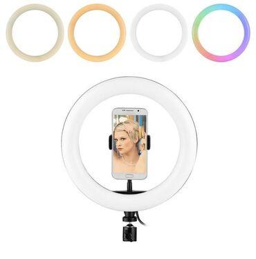Кольцевая лампа идеально подойдет для мастеров по визажу, бровистов, п