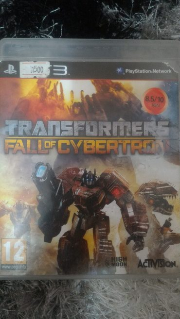 Игра на Playstation 3 ,Transformers:Fall of Cybertron в Бишкек