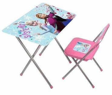 Frizerska stolica - Beograd: Frozen Sto i stolica za decuCena 3090 dinara Savršen poklon za male