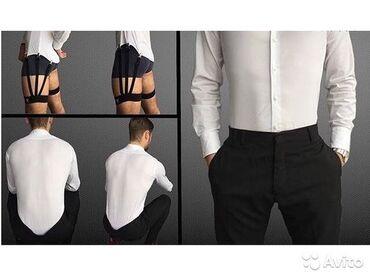 платья рубашки оверсайз в Кыргызстан: Мужские подтяжки для рубашки