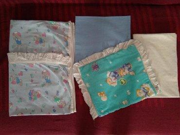 Za decu | Kragujevac: Posteljina za krevetacSadrži:2 čaršafaJorgansku navlaku i jastučeSvega