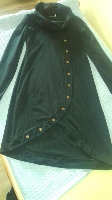 Crna haljina unikat 100%kuplhena u engleskoj.Napred je malo - Kraljevo