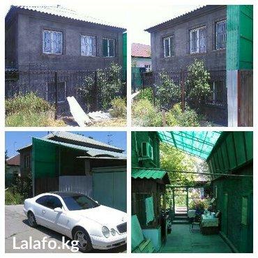 2-х этажный, кирпичный дом, 98м²(жилая 56м²), район туббольницы(по Сов в Бишкеке