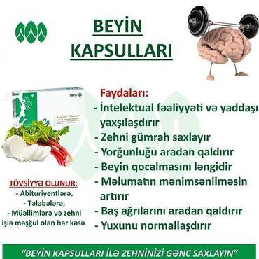 """""""Beyin Fəaliyyəti Üçün Lesitinli Kalsium""""-Tam Təbii,Heyvan,Bitki və Vi"""