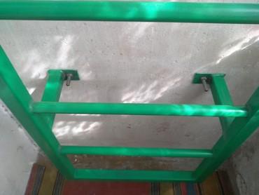 turnik-bu в Кыргызстан: Шведская стенка.есть кольца для каната, груши