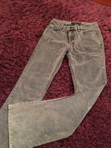 Teksas-farmerke-proizvodi-i-pazar - Srbija: Guess jeans farmerke, teksas/plis, siroke nogavice, rastegljiv