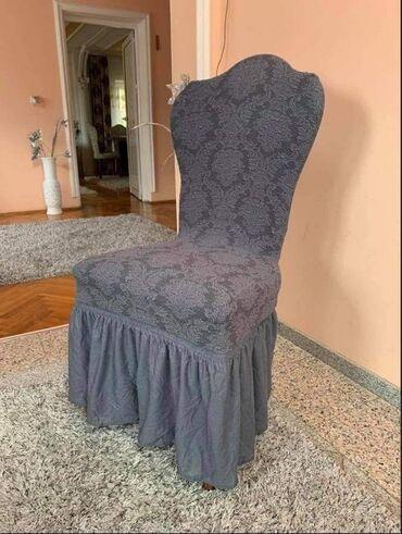 Frizerska stolica - Beograd: NOVI MODELUniverzalne rastegljive navlake za stolice6 komada-3200