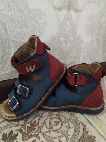Ортопедические сандали. Фирма woopy.Р. 26 состояние отличное. Ходили в
