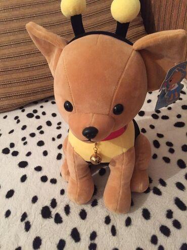 Игрушки - Лебединовка: Новая мягкая игрушка собачка в одежде пчёлки400 куплено за 800 в