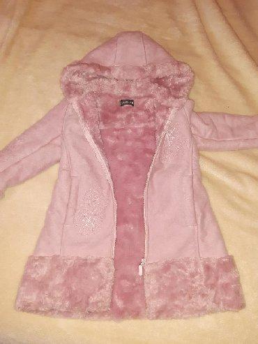 Dečije jakne i kaputi | Kovilj: Ocuvan roze kaputic za uzrast od 4 god