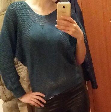 Ženska odeća | Nova Pazova: Džemper rupicast, miš rukavi. Slabo nošen. Univerzalna veličina