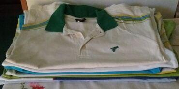 Dečija odeća i obuća - Sombor: Sedam majica jedna je vel .S i NOVA kratkih rukava Vel.M za decaka