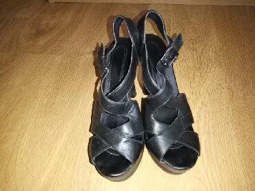 Braon kozne sandale broj pitajte - Srbija: Kozne sandale broj 37