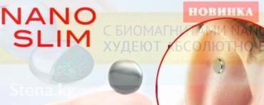 БИО-магниты NANO SLIM для похудения из США в Бишкек