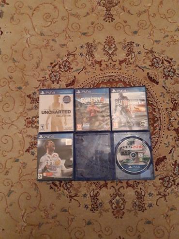 Bakı şəhərində Playstation 4 ucun orginal diskler..Disklerde hec bir problem