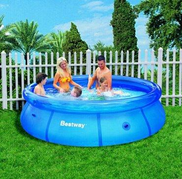 Навес для бассейна - Кыргызстан: Бассейн надувной Форма: круглыйРазмеры: 305 x 76 см.Объем бассейна