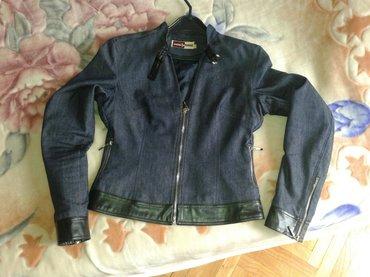 Kratka, strukirana, teksas jaknica, potpuno nova.obucena par - Valjevo