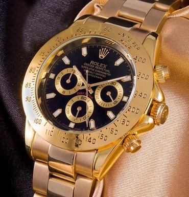 Мужские Золотые Фэшн Наручные часы  в Бишкек