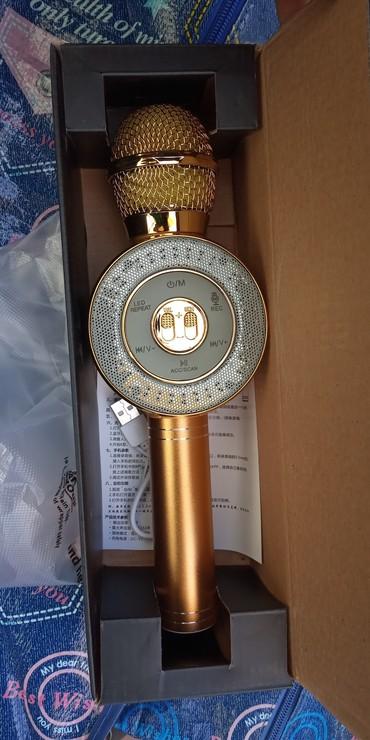 Микрофон караоке  +USB +aux в Бишкек