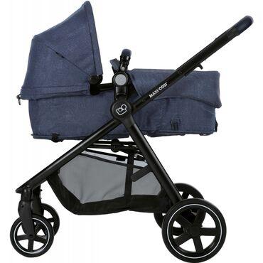 Коляска-трансформер Maxi-Cosi Zelia, цвет Nomad Blueпредназначена для