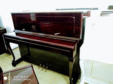 Bakı şəhərində Her nov ve rengde Pianinolarin satishi